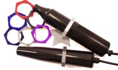 hex stand roll guard for violet wands